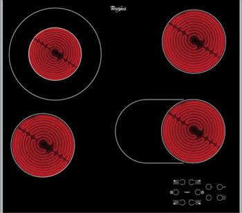Встраиваемая электрическая варочная панель Whirlpool AKT 8210 LX электрическая варочная панель whirlpool akt 8210 lx