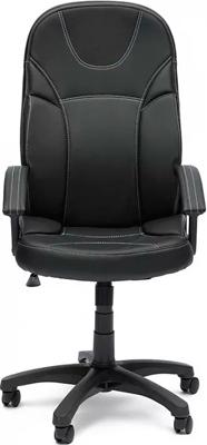 Кресло Tetchair TWISTER (кож/зам Черный PU C 36-6) кресло tetchair runner кож зам ткань черный жёлтый 36 6 tw27 tw 12