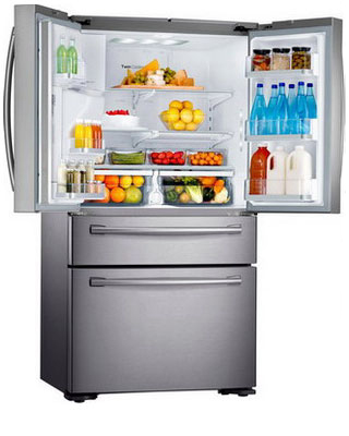 Многокамерный холодильник Samsung RF-24 HSESBSR холодильник samsung rs57k4000sa