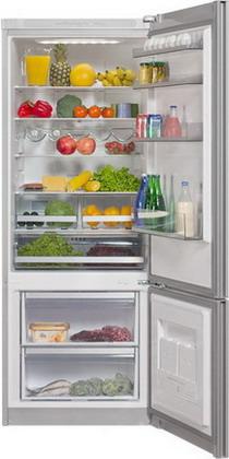 Двухкамерный холодильник Vestfrost VF 566 MSLV двухкамерный холодильник vestfrost vf 465 eb