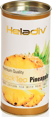 Чай черный HELADIV HD PINEAPPLE 100 gr Round P.T. casio w 211 1a