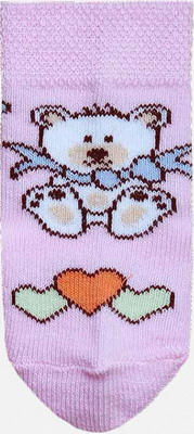 Носочки Брестский чулочный комбинат 14С3081 р.9-10 019 бл.розовый