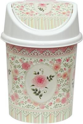 Ведро для мусора Виолет Чайная роза 0408/65