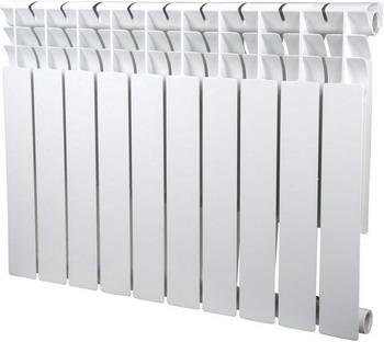 Водяной радиатор отопления SIRA Omega 75 H.500-10 алюминиевый радиатор sira omega as 500 6 секций