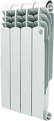 Водяной радиатор отопления Royal Thermo Vittoria 500 - 4 секц.  радиатор алюминиевый 1 royal thermo revolution 500 4 секц