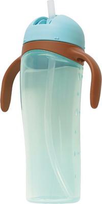 Поильник Pigeon высокий с трубочкой голубой pigeon чашка поильник mag mag с трубочкой зеленый с 8 мес 200 мл