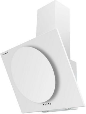 Вытяжка со стеклом MAUNFELD TOWER CIRCLE 60 Белый/Белое стекло вытяжка каминная maunfeld tower round 50 white белый