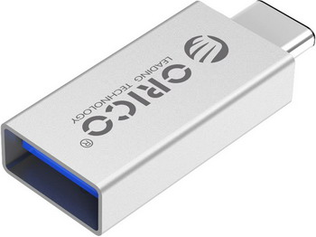 Переходник Orico CTA1 orico type c otg adapter to usb2 0 data cable for macbook extended u disk mouse white ct2