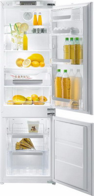 Встраиваемый двухкамерный холодильник Korting KSI 17895 CNFZ двухкамерный холодильник don r 295 b