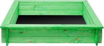 Песочница Paremo Клио (4 лавки  пропитка  подложка) PS 117-01 зеленая