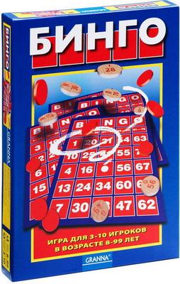 Настольная игра Bondibon Бинго ВВ1010 игра bondibon детектор лжи bb1182 196484