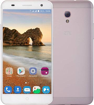 Мобильный телефон ZTE Blade V7 розовый мобильный телефон zte blade r550 black blue