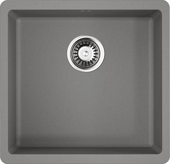 Кухонная мойка OMOIKIRI Kata 44-U-GR Artgranit/Leningrad Grey (4993404) смеситель для кухни omoikiri yamada gr leningrad grey 4994261