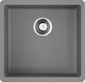 Кухонная мойка OMOIKIRI Kata 44-U-GR Artgranit/Leningrad Grey (4993404) смеситель для кухни omoikiri shinagawa gr 4994160 leningrad grey