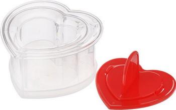 Формочки для придания блюдам формы Tescoma PRESTO FoodStyle сердце 2шт 422218 клипса для пакетов tescoma presto 7 и 11см 2 1шт 420762