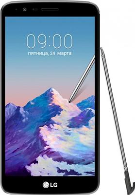 Мобильный телефон LG Stylus 3 M 400 DY титановый сотовый телефон lg m400dy stylus 3