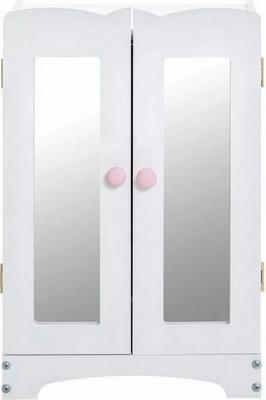 цена на Кукольный шкаф для одежды Paremo PFD 116-06 белый
