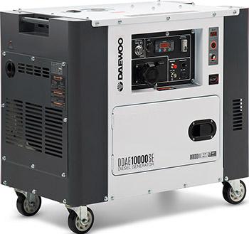 Электрический генератор и электростанция Daewoo Power Products DDAE 10000 SE бетоносмеситель электрический daewoo dacm160h
