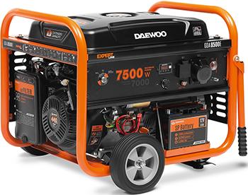 Электрический генератор и электростанция Daewoo Power Products GDA 8500 E генератор бензиновый daewoo gda 3500e