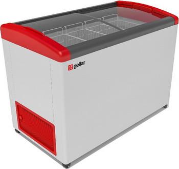 Морозильный ларь Gellar FG 500 E красный морозильный ларь бирюса б 260к