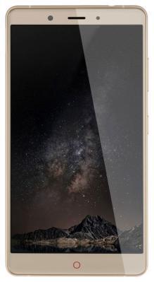 Мобильный телефон ZTE Nubia Z 11 Max (4+64) золотой клип кейс gresso мармелад для zte nubia z9 max черный