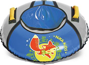 Тюбинг Nika Kids ТБ1КР 950 ''Лисёнок'' голубой/серый цена