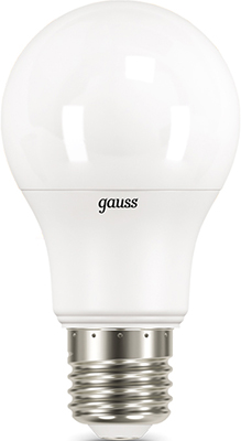 Лампа GAUSS LED A 60 10 W E 27 4100 K 1/10/50