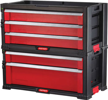 Ящик Keter 5 DRAWERS TOOL CHEST SET