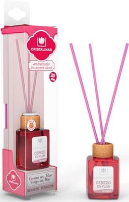 Арома-диффузор CRISTALINAS Mikado для жилых помещений с ароматом цветущей вишни 18 мл ледобур mikado apm01 a6