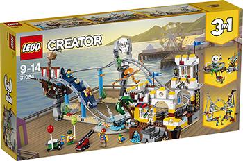 Конструктор Lego Аттракцион «Пиратские горки» CREATOR 31084 lego creator морская экспедиция 31045
