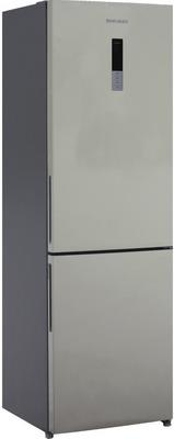 Двухкамерный холодильник Shivaki BMR-1852 DNFBE холодильник shivaki bmr 2013dnfw двухкамерный белый