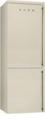 Двухкамерный холодильник Smeg FA 8003 POS встраиваемый холодильник smeg s7323lfld2p