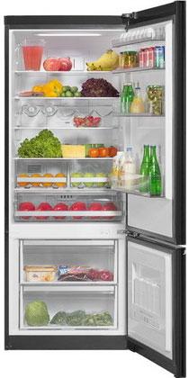 Двухкамерный холодильник Vestfrost VF 566 ESBL двухкамерный холодильник vestfrost vf 465 eb
