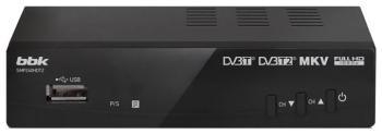 Цифровой телевизионный ресивер BBK SMP 240 HDT2 тёмно-серый