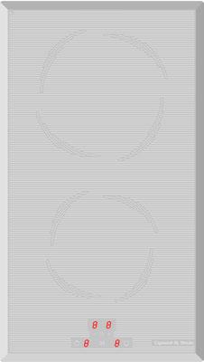 Фото Встраиваемая электрическая варочная панель Zigmund amp Shtain. Купить с доставкой