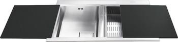 Кухонная мойка Smeg LQVN 862-1 кухонная мойка smeg lqvn 862 1