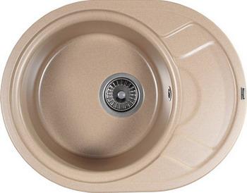 Кухонная мойка Weissgauff ASCOT 575 Eco Granit бежевый  weissgauff ascot 575 eco granit белый