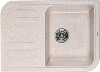 Кухонная мойка Weissgauff SOFTLINE 695 Eco Granit песочный  weissgauff softline 780 eco granit светло бежевый