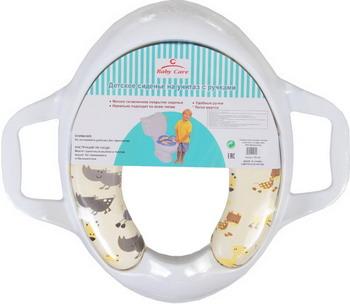 Сиденье для унитаза Baby Care РМ 258 D 45 белый