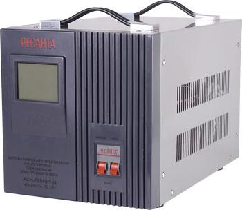 Стабилизатор напряжения Ресанта АСН-12 000/1-Ц стабилизатор электронного типа настенный асн 10 000 н 1 ц lux ресанта