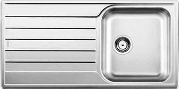 Кухонная мойка BLANCO LIVIT 45 S Salto нерж. сталь полированная кухонная мойка blanco livit 6 s centric нерж сталь полированная с клапаном автоматом