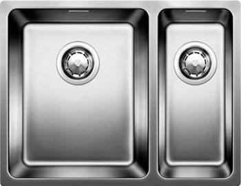 Кухонная мойка BLANCO ANDANO 340/180-U нерж.сталь полированная с клапаном-автоматом чаша слева  мойка andano 340 180 if left 518324 blanco