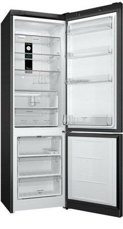 Двухкамерный холодильник Hotpoint-Ariston HF 9201 B RO двухкамерный холодильник don r 295 b