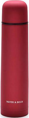 Термос MayerampBoch 27617-1 1 2 л нерж/сталь мет/колба МВ (х24) красный термокружка miessa 0 42л нерж сталь пластик колба