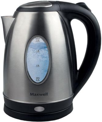 Чайник электрический Maxwell MW-1073 чайник kitchenaid kten20sbob чёрный 1 9 л нержавеющая сталь