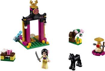 Конструктор Lego Disney Princess: Учебный день Мулан 41151 конструктор lego disney princess королевские питомцы жемчужинка 41069