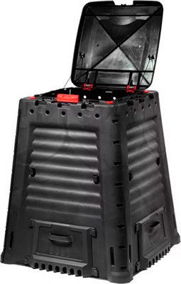 Компостер Keter Mega Composter 650л черный 17184214