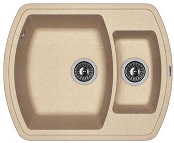 Кухонная мойка Florentina Нире-630 К песочный FG мойка florentina нире 480 грей