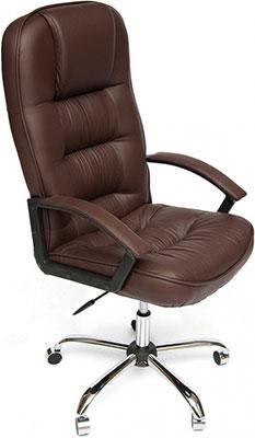 цена на Кресло Tetchair СН9944 (Хром Кож/Зам Коричневый)