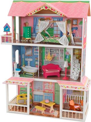 Кукольный дом KidKraft ''Карамельная Саванна'' (Sweet Savannah) с мебелью 65935_KE кукольный домик kidkraft кайла с мебелью